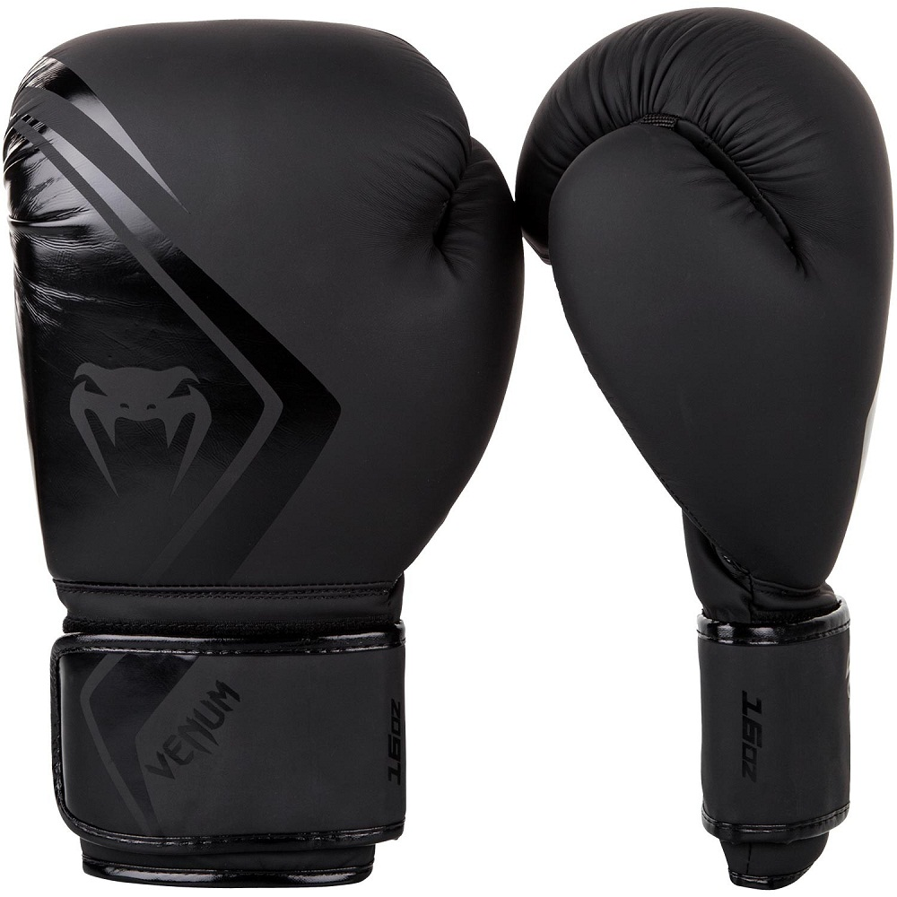Перчатки для бокса Venum Contender 2.0 Boxing Gloves - Black/Black