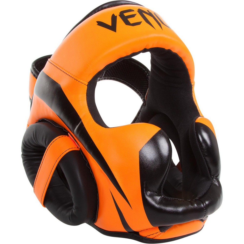 Шлем Venum Elite Headgear - Orange