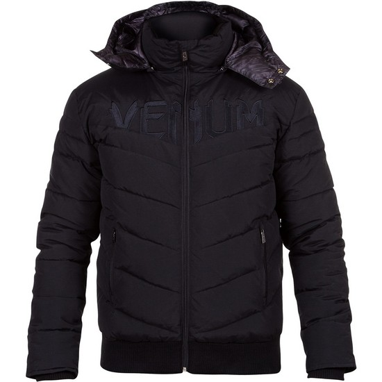 Купить Пуховик Venum Sharp down Jacket - Black/Black, 4215_bk