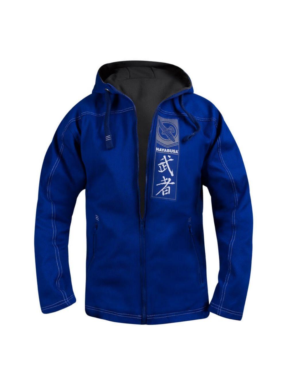 Купить Толстовка Hayabusa Uwagi Gi Jacket 3.0 Blue, 5137_bl