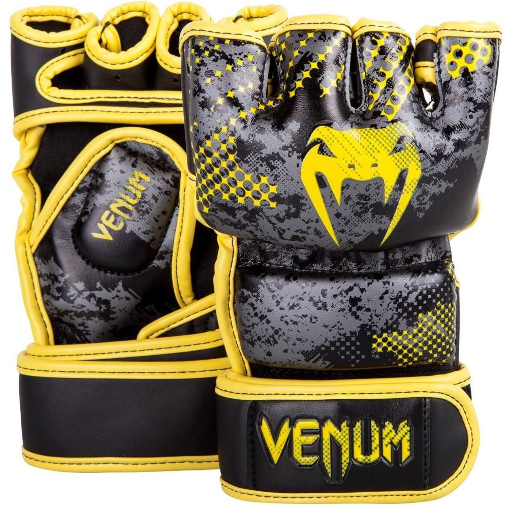 Купить Перчатки для ММА Venum Tramo MMA Gloves Yellow/Black, 6386_bk_yl