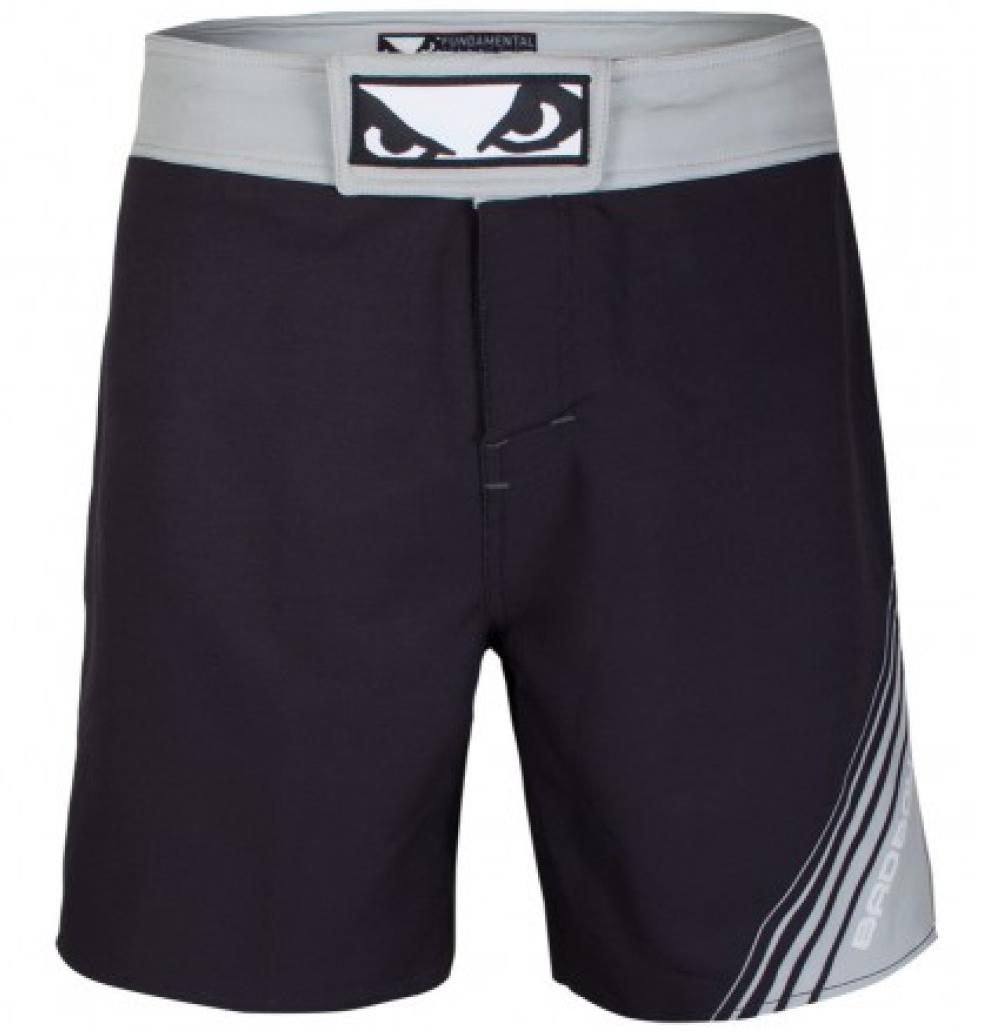 Купить Шорты Bad Boy Fundamental MMA Shorts - Black/Grey, 4581_bk_gy