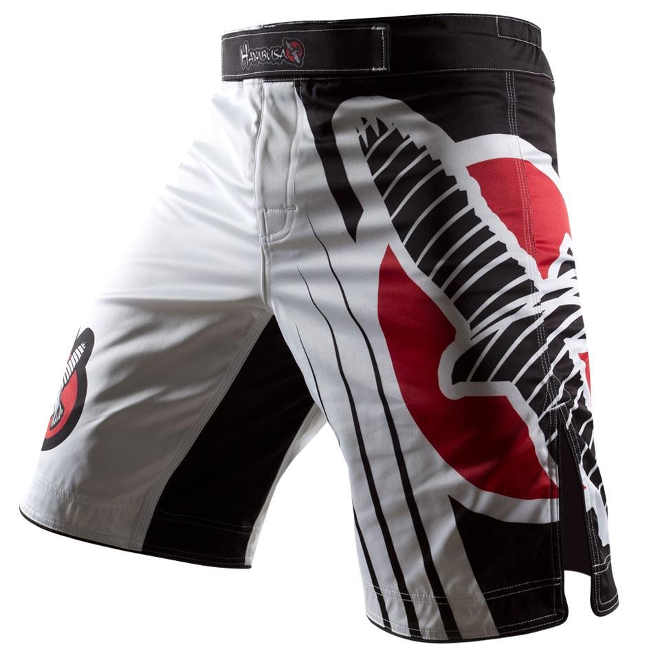 Шорты Hayabusa Chikara Recast Performance Shorts - White, 9397_wh  - купить со скидкой