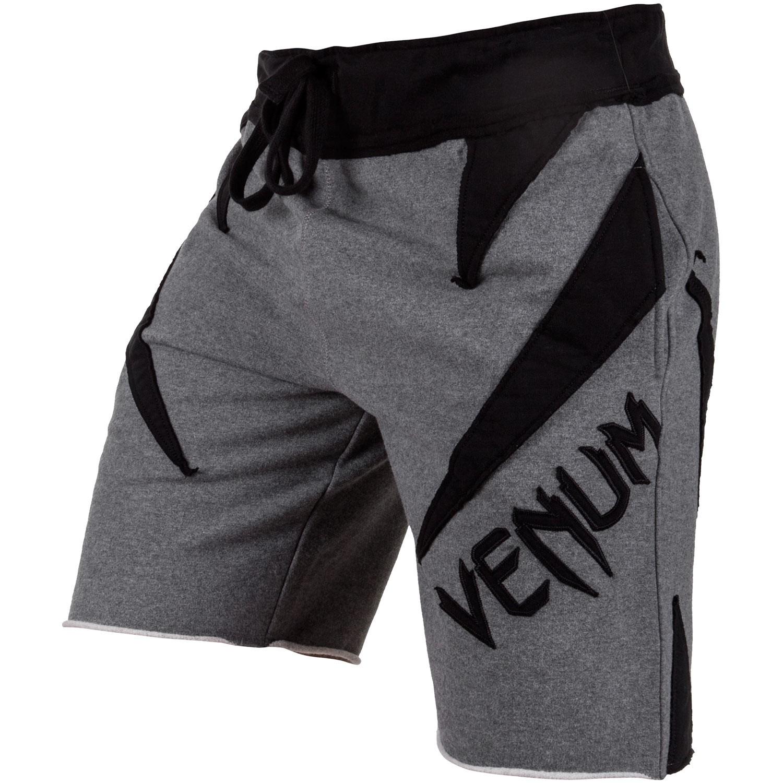 Купить Шорты Venum Jaws Cotton Shorts Grey/Black, 4409_gy