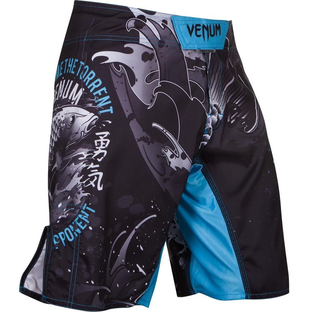Купить Шорты Venum Koi Fightshorts Black, 4223_bk_bl