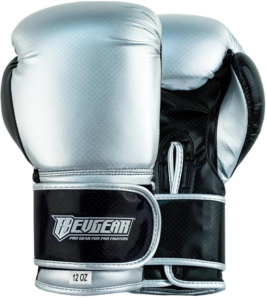 Купить Перчатки для бокса Revgear Pinnacle 2 Silver/Black, 6640_sl_bk