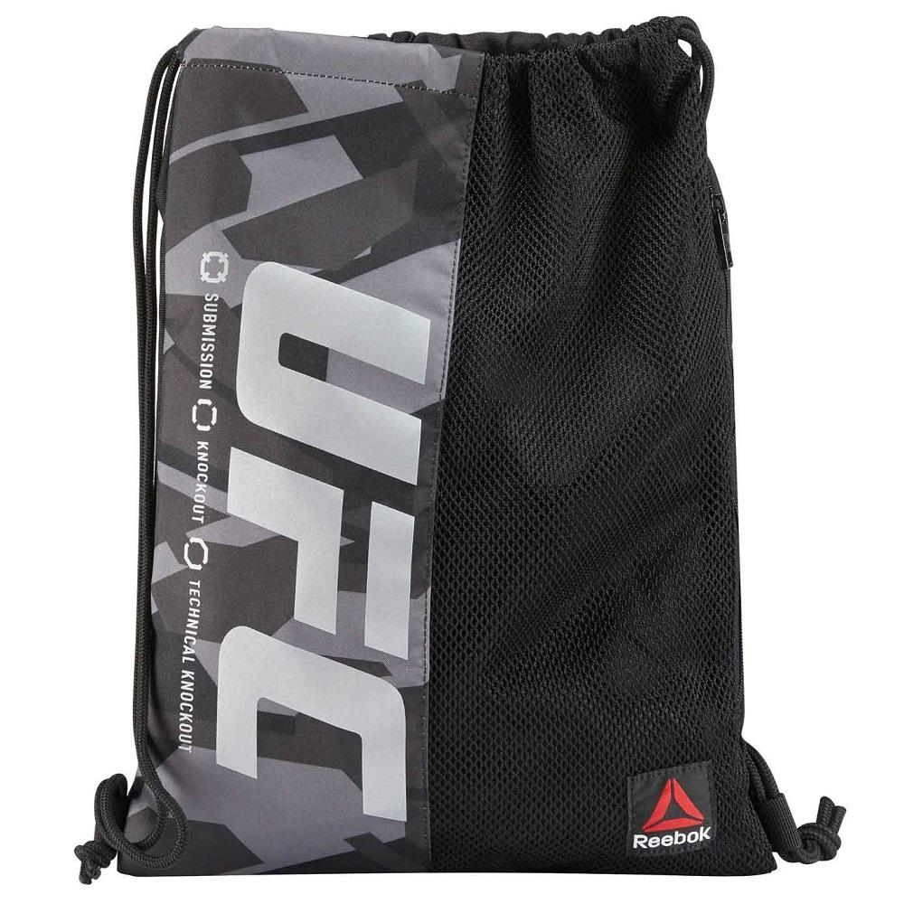 Сумка для обуви UFC/Reebok String Bag, 5010_bk_gy  - купить со скидкой