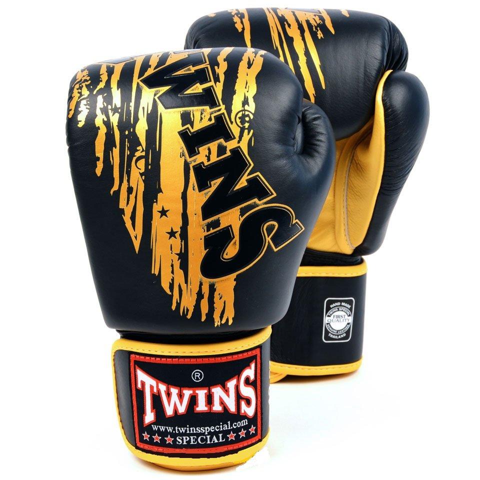 Купить Перчатки для бокса Twins Special FBGV-TW2 Black/Gold, 4003_bk_gd