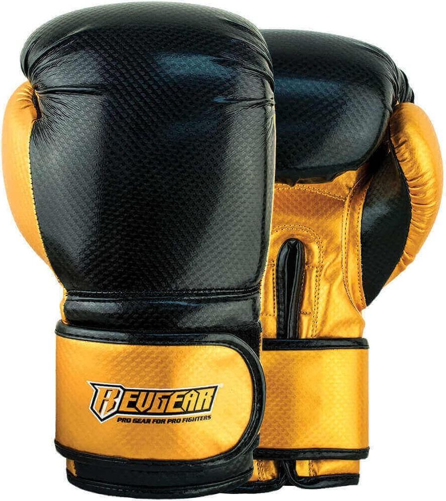 Купить Перчатки для бокса Revgear Pinnacle 2 Black, 6640_bk_gd