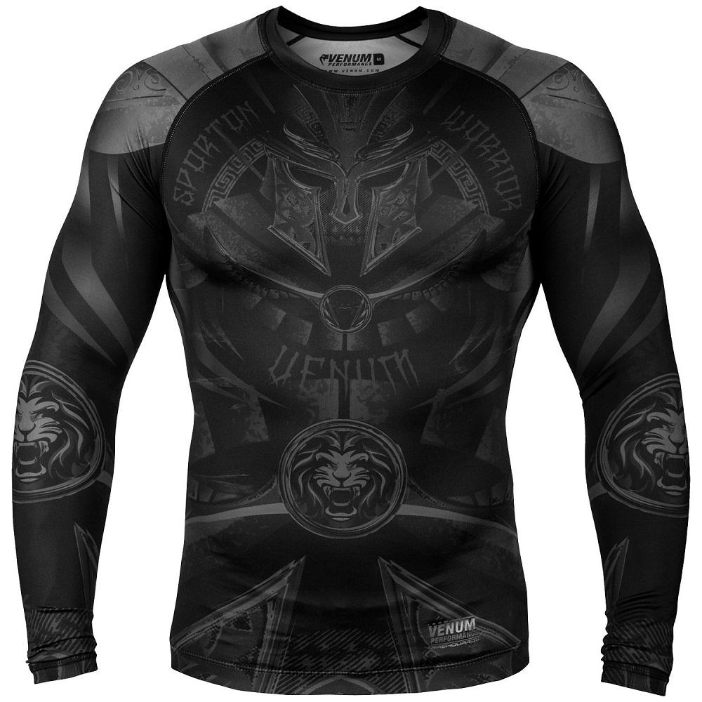 Купить Рашгард Venum Gladiator 3.0 Rashguard LongSleeve Black, 4524_bk