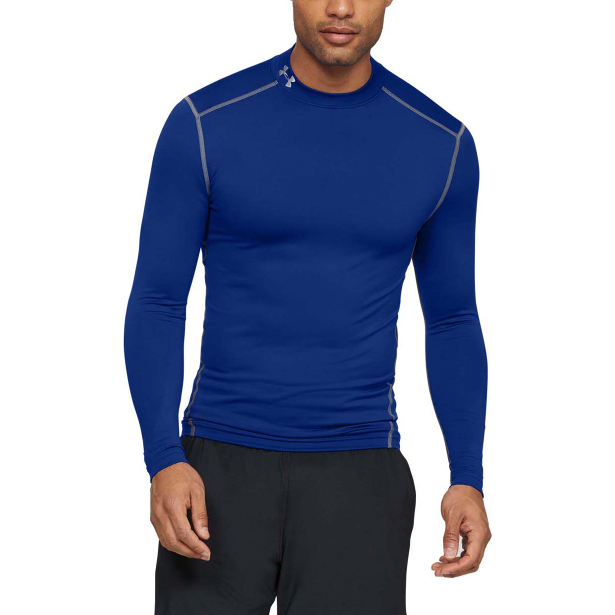 Термолонгслив CG Compression Mock LS Tee Under Armour Синий