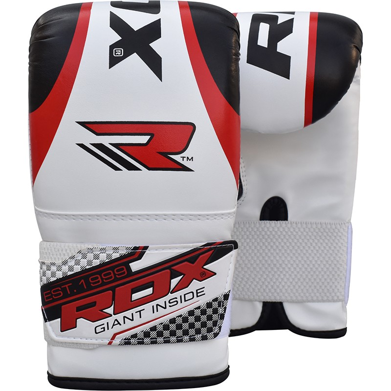 Купить Перчатки снарядные RDX Boxing Bag Mitts Red/White , 9287_wh_rd