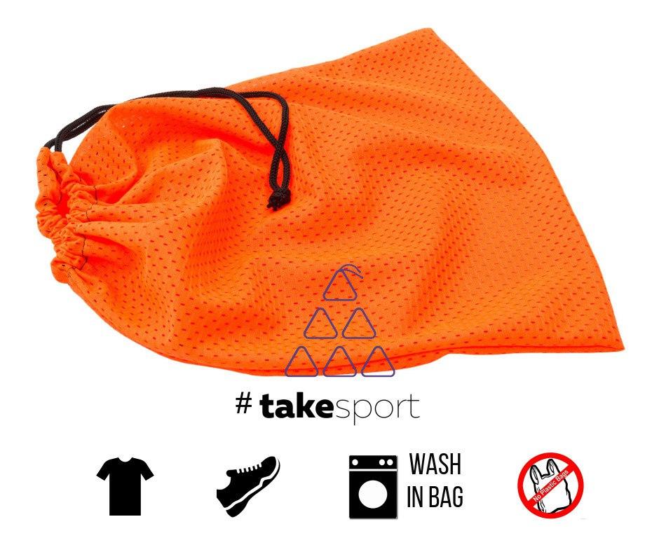 Купить Мешок для одежды TAKE SPORT Orange 30 х 35, 4432_or