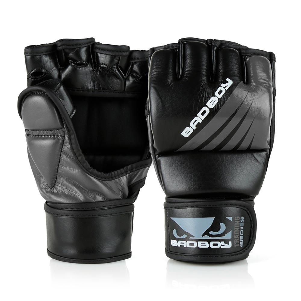Купить Перчатки для ММА Bad Boy Training Series Impact Уценка (S/M), 5727_bk_gy