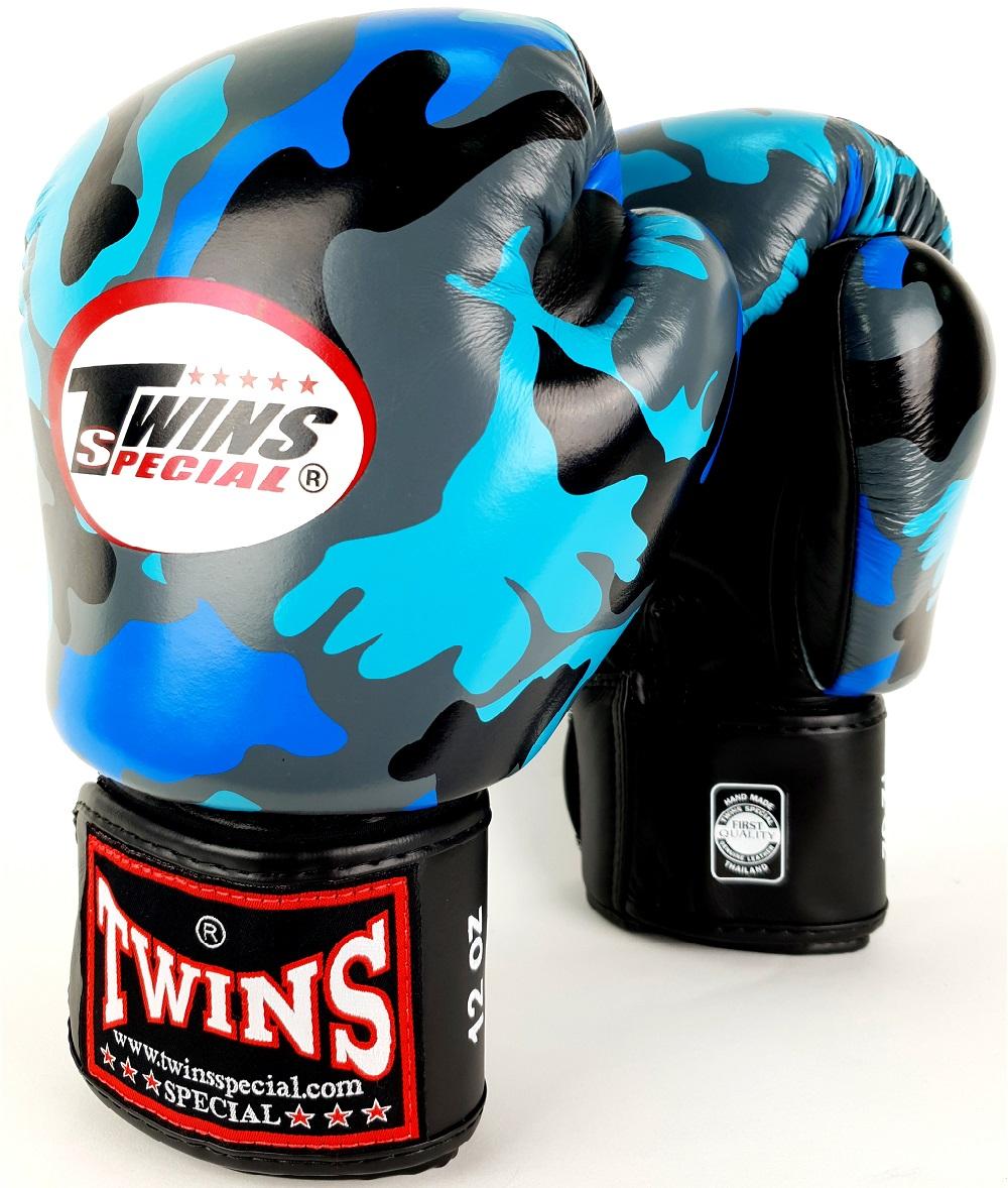 Купить Перчатки для бокса Twins Special FBGV-NB Blue Camo, 3265_cm_bl