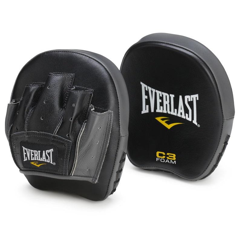 Лапы Everlast Precision Black/Grey (1пара), 5830_bk_gy  - купить со скидкой