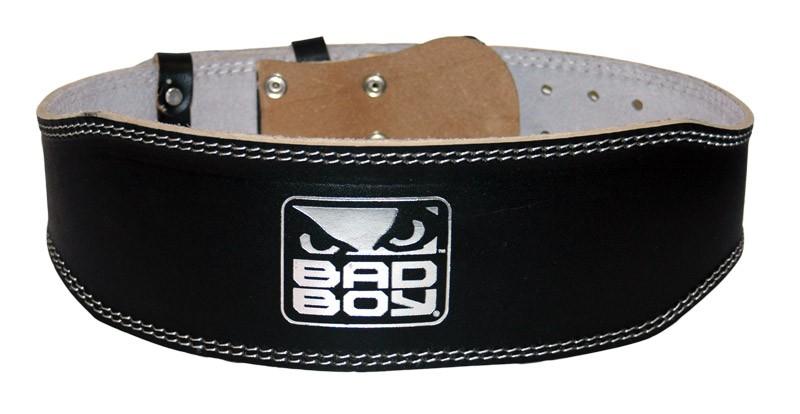 Купить Пояс для спины Bad Boy Leather Weight Lifting Belt, 9140_bk