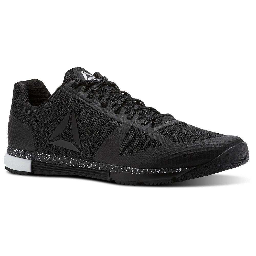 Купить Кроссовки UFC/Reebok Speed TR Black/White, 5237_bk_wh