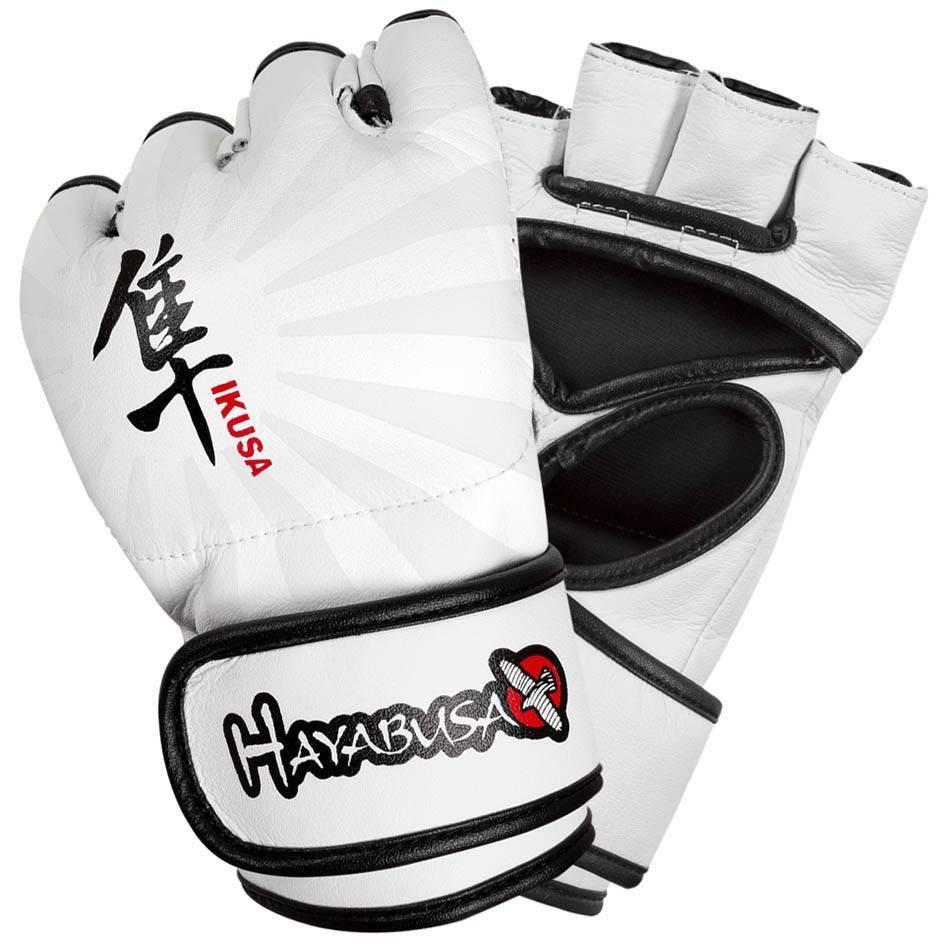 Купить Перчатки для ММА Hayabusa Ikusa 4oz MMA Gloves - White &, 9386_wh