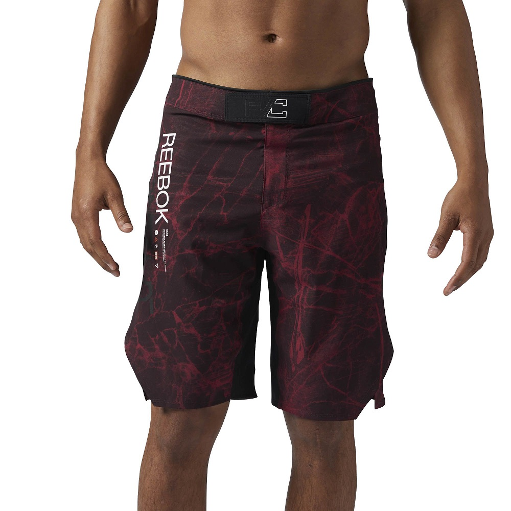 Купить Шорты UFC/Reebok Combat Prime MMA Black/Red, 4985_bk_rd