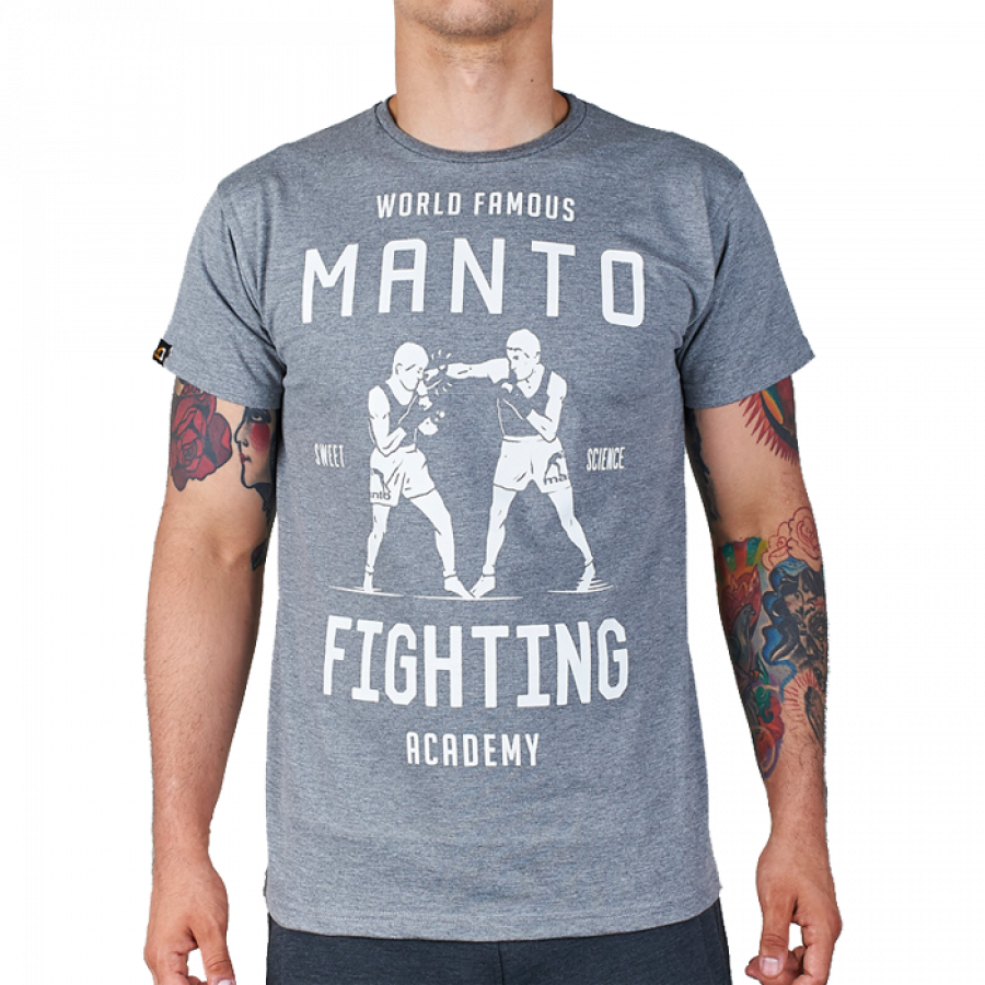Купить Футболка Manto Academy Grey, 3411_gy