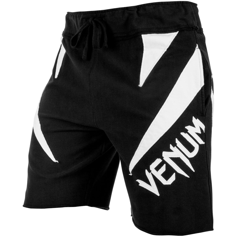 Купить Шорты Venum Jaws Cotton Shorts Black/White, 4409_bk