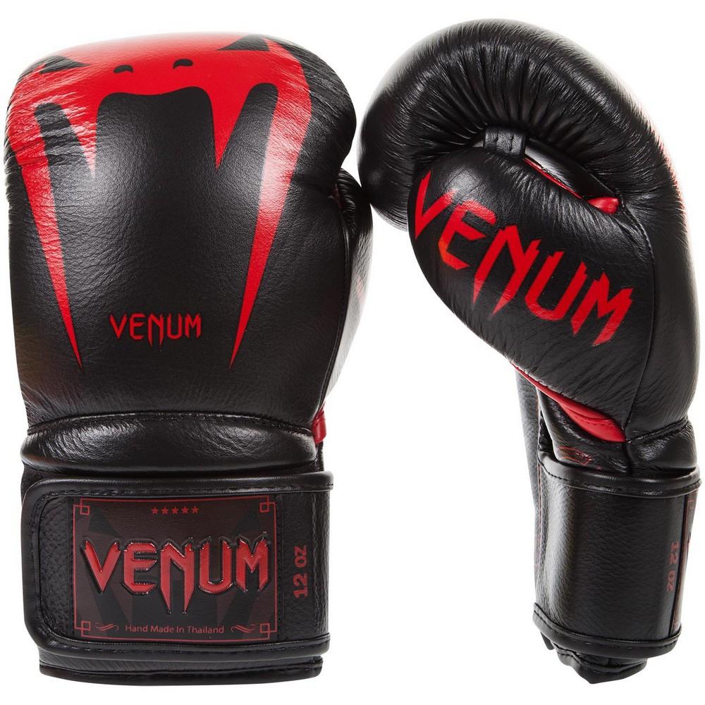 Купить Перчатки для бокса Venum Giant 3.0 Black/Devil Уценка (14 унций), 6257_bk_rd
