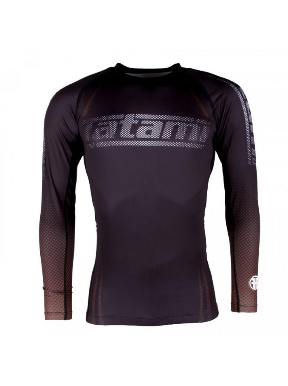 Купить Рашгард Tatami New IBJJF Rank Long Sleeve Brown, 6449_br