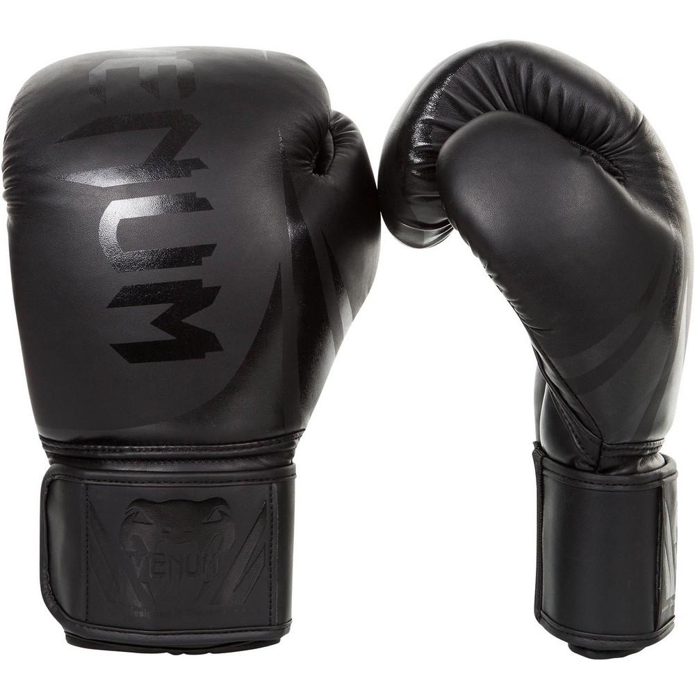 Купить Перчатки для бокса Venum Challenger 2.0 Boxing Gloves Black/Black, 4109_bk