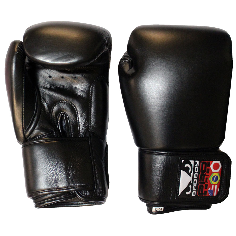 Купить Перчатки для бокса Bad Boy Pro Series Boxing Gloves - Black&, 4457_bk