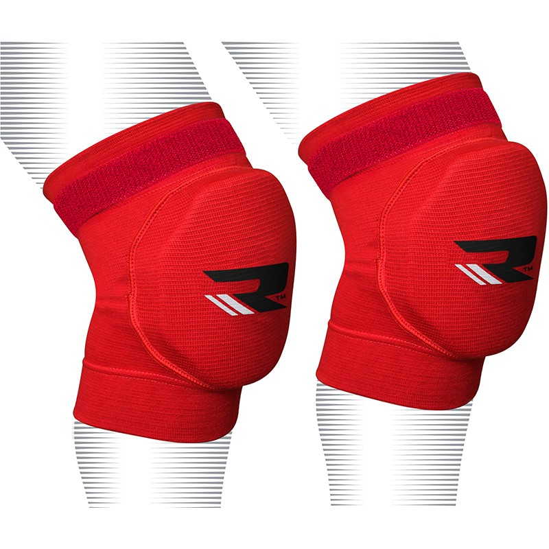 Купить Наколенники RDX Knee Pads Brace Support Protection Red, 4173_rd