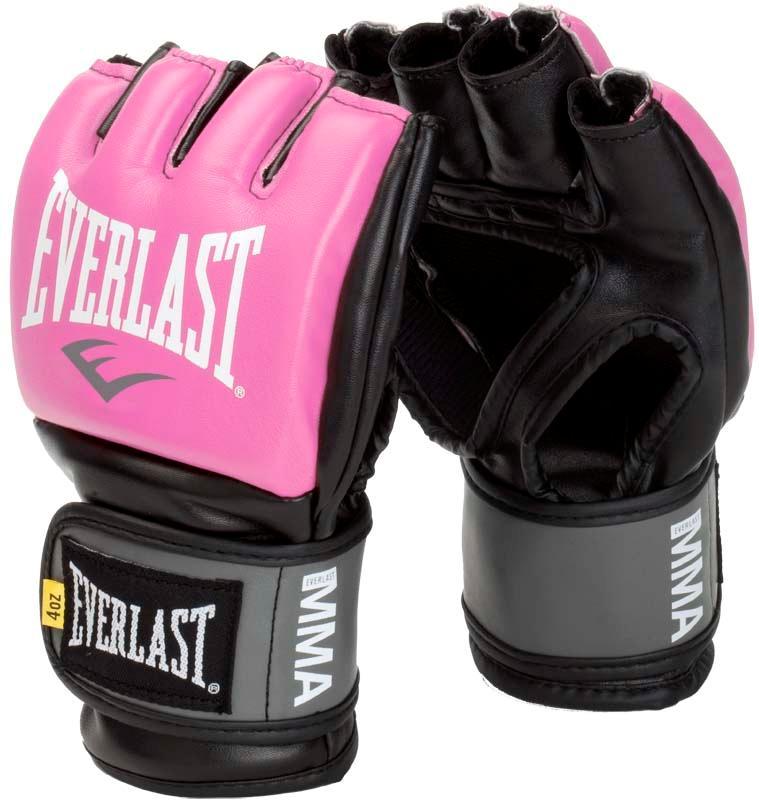 Купить Перчатки для ММА Everlast Pro Style Grappling Pink, 5840_pk