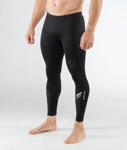 Купить Компрессионные штаны Virus Grappling PANT CO19 Black/Silver&, 4702_bk_sl