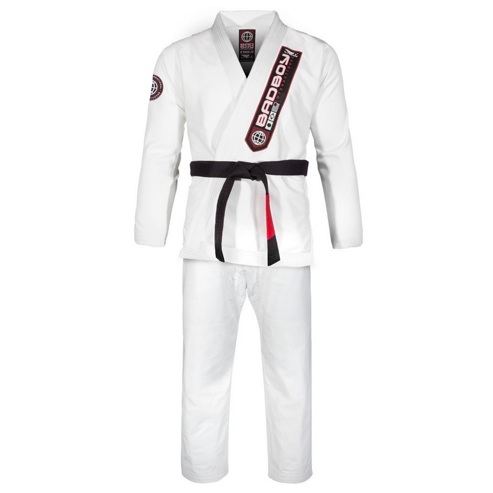 Купить Кимоно Bad Boy Pro Series Champion BJJ Gi - White, 4482_wh