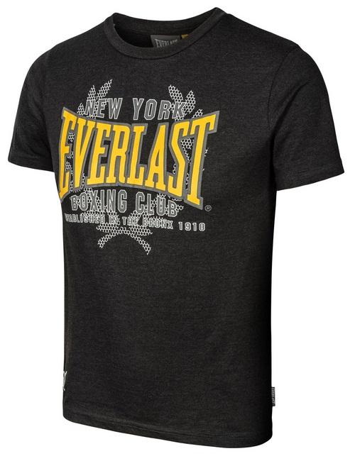 Купить Футболка детская Everlast NY Boxing Club Black, 6020_bk