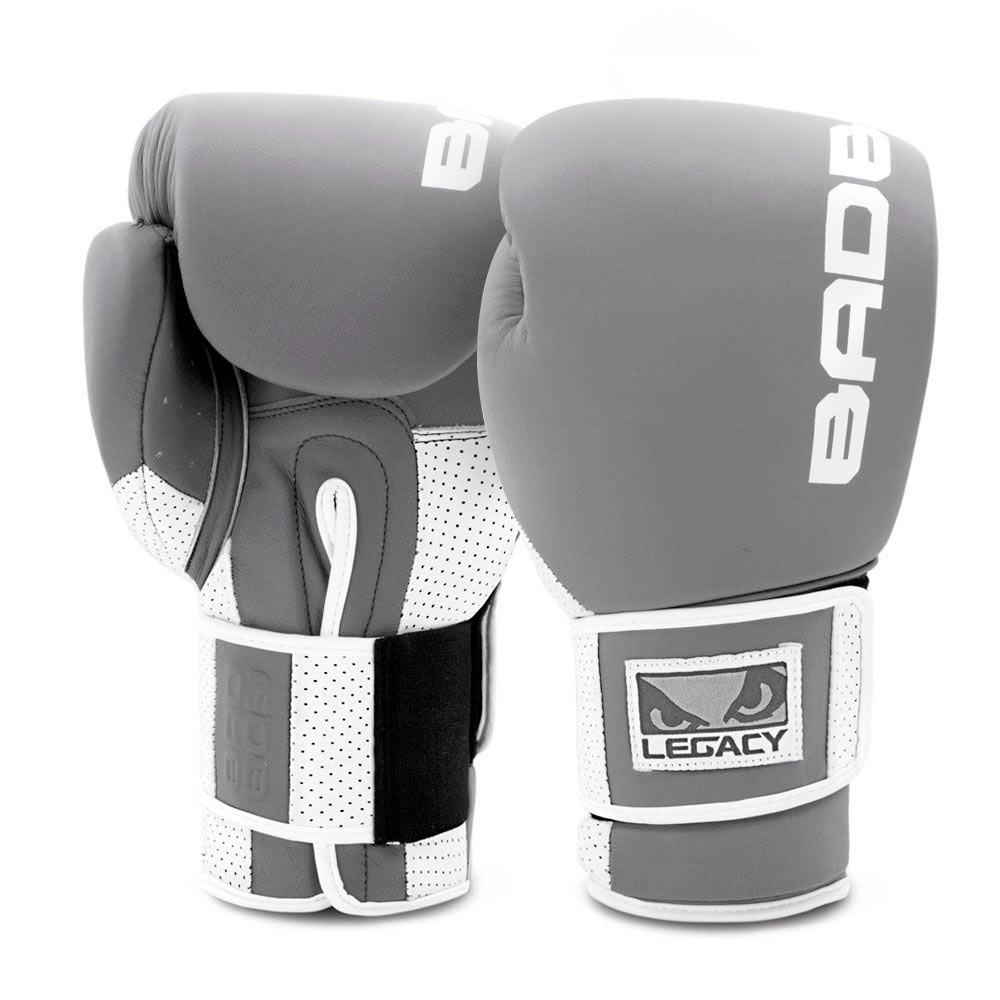 Купить Перчатки для бокса Bad Boy Legacy Prime Boxing Gloves Уценка (12), 5682_gy_wh