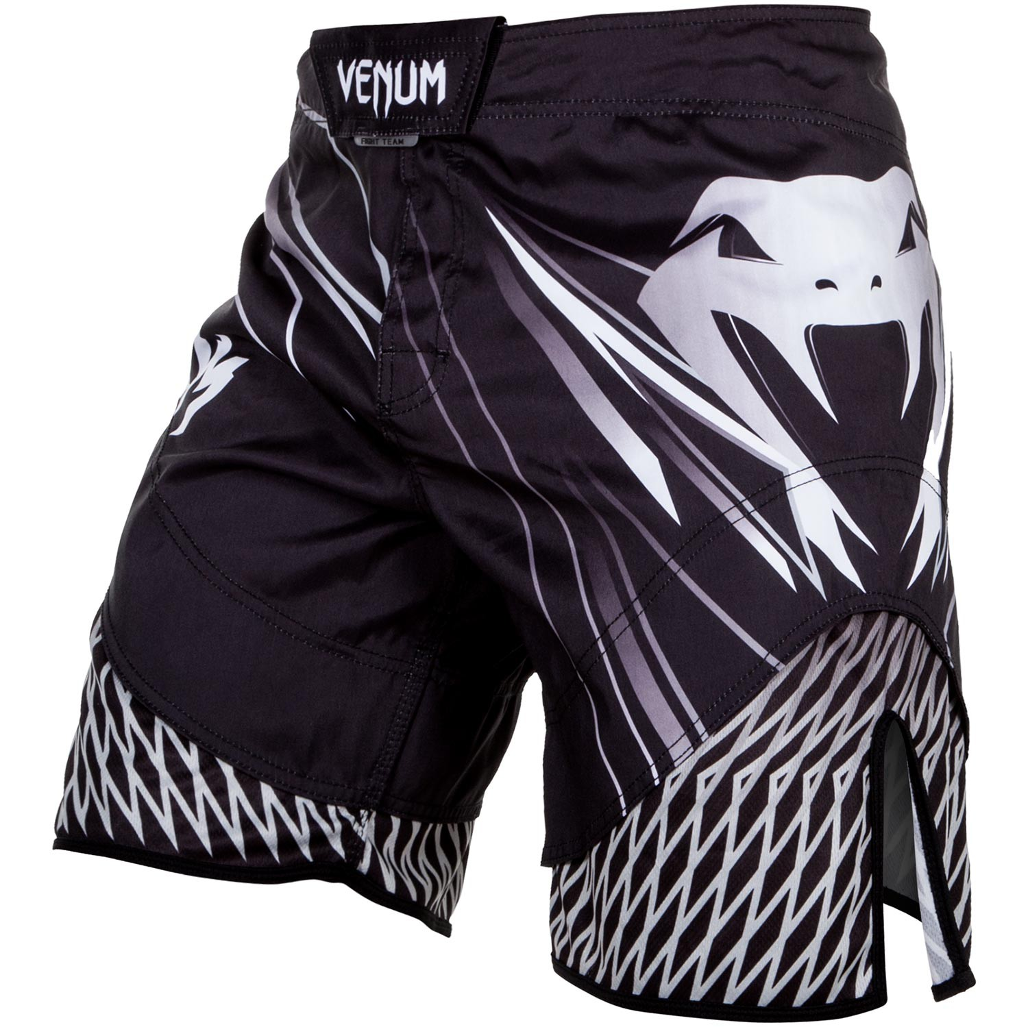Шорты Venum Shockwave 4.0 Fightshorts Black/Grey, 4405_bk_gy  - купить со скидкой