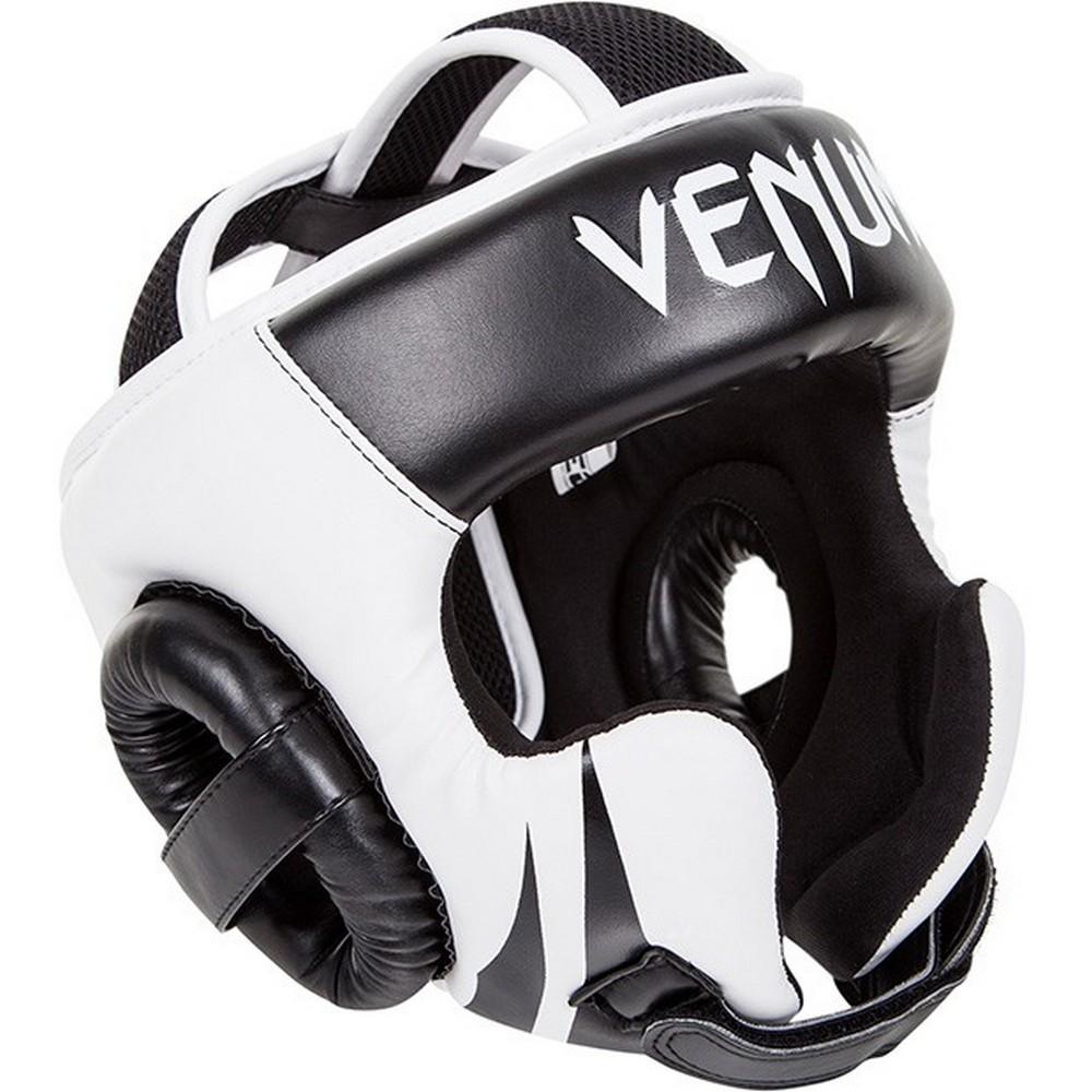 Купить Шлем Venum Challenger 2.0 Headgear - Hook&Loop Strap Black/Ice, 5224_wh_bk