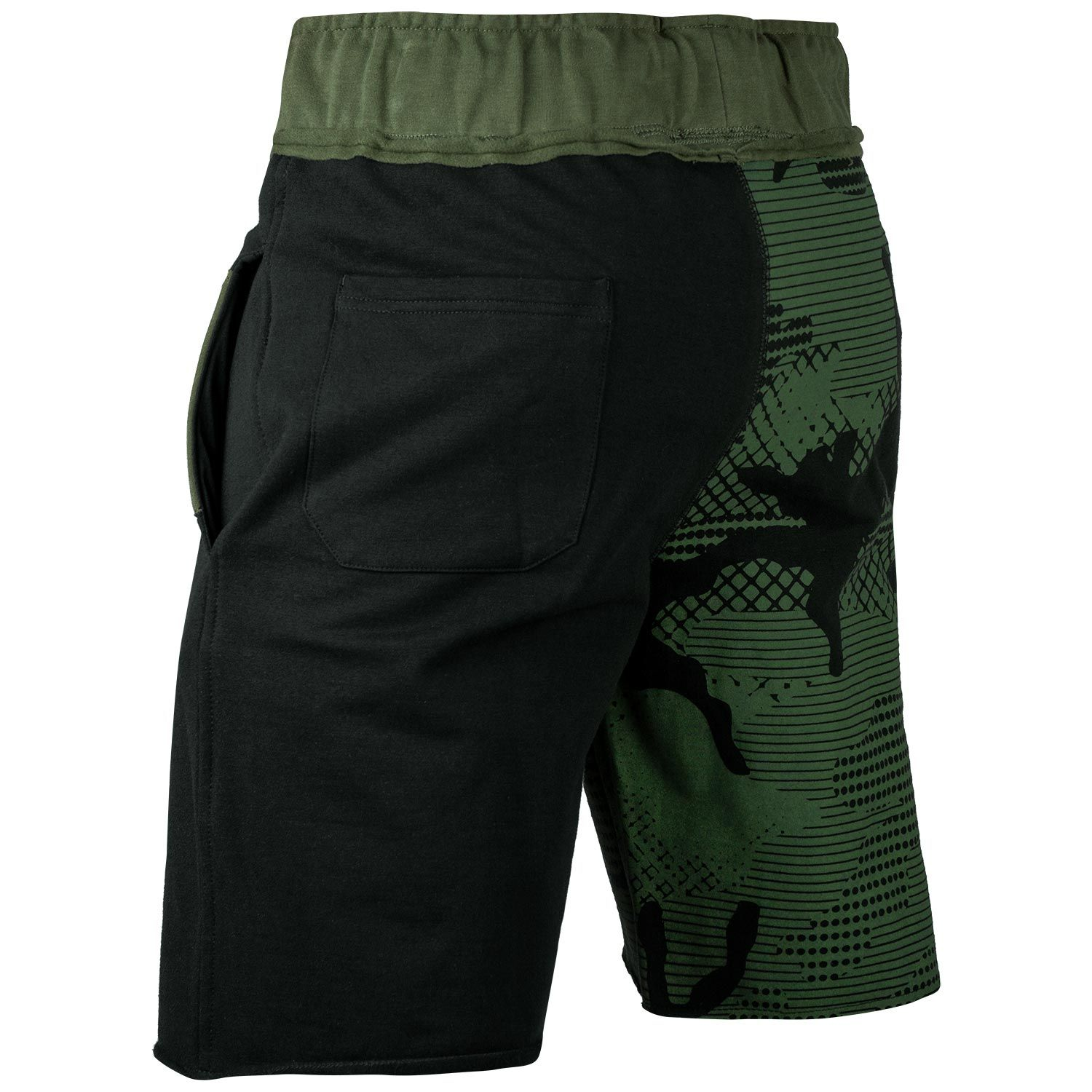 Шорты Venum Assault Cotton Shorts Khaki/Black фото 3