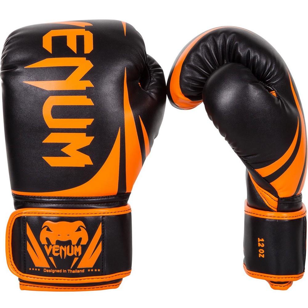 Купить Перчатки для бокса Venum Challenger 2.0 Boxing Gloves Neo Orange/Black, 4109_bk_or