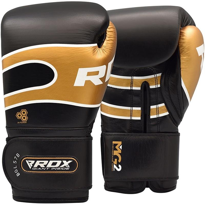 Купить Перчатки для бокса RDX Boxing Gloves Pro S7 Black, 6011_bk_br