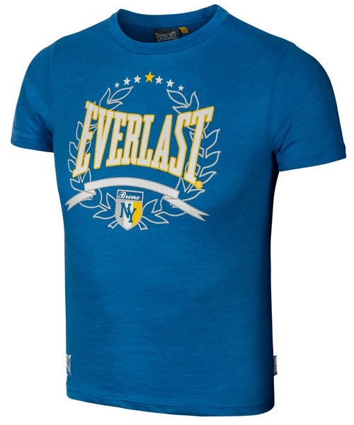 Купить Футболка детская Everlast NY T-shirt Blue, 5896_bl