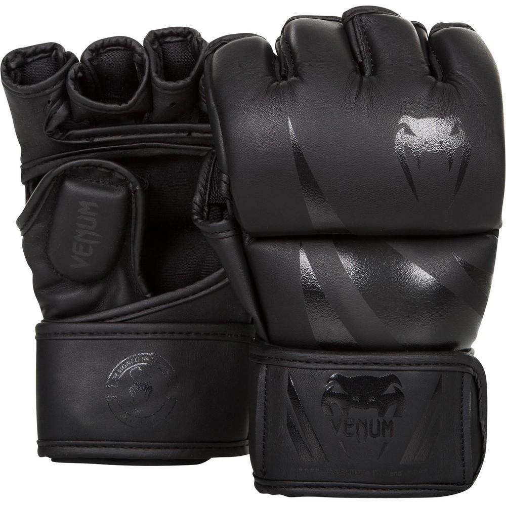 Купить Перчатки для ММА Venum Challenger MMA Gloves Black/Black, 4095_bk