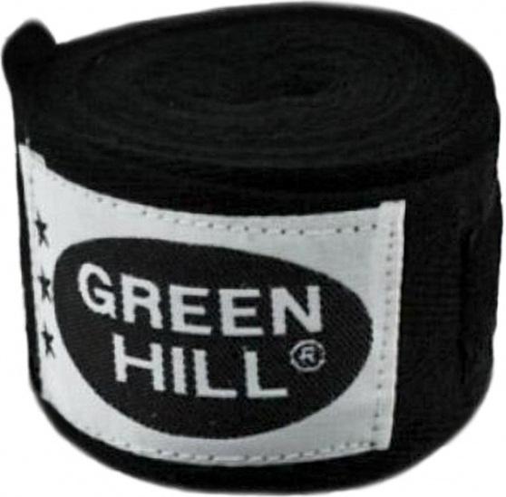 Купить Бинты Green Hill 2,5 м х/б BC-6235a черный, 4511_bk