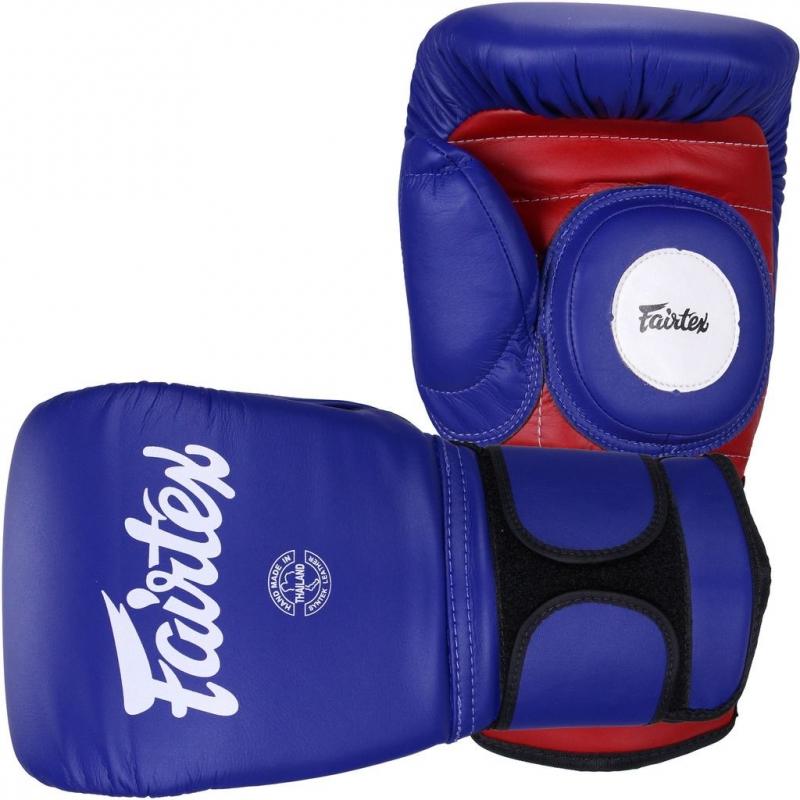 Купить Перчатки для тренера Fairtex Coach Sparring Gloves Blue/Red, 5045_bl_rd