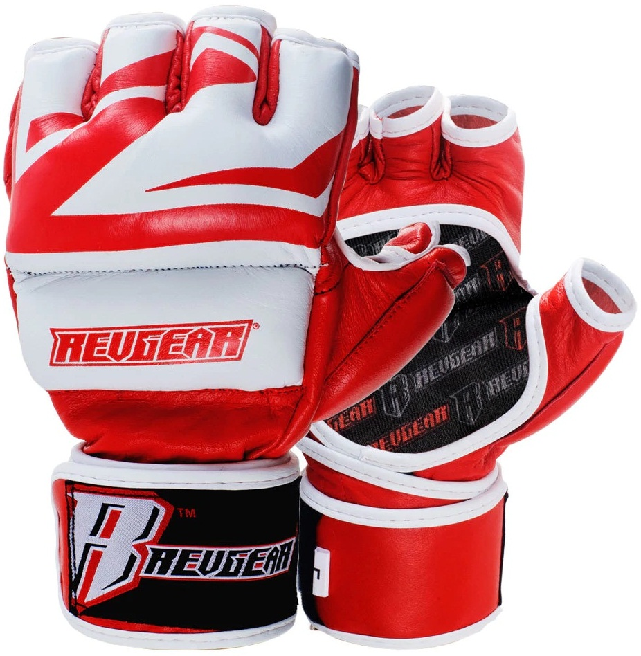 Купить Перчатки для ММА Revgear Deluxe Pro Red, 6642_rd