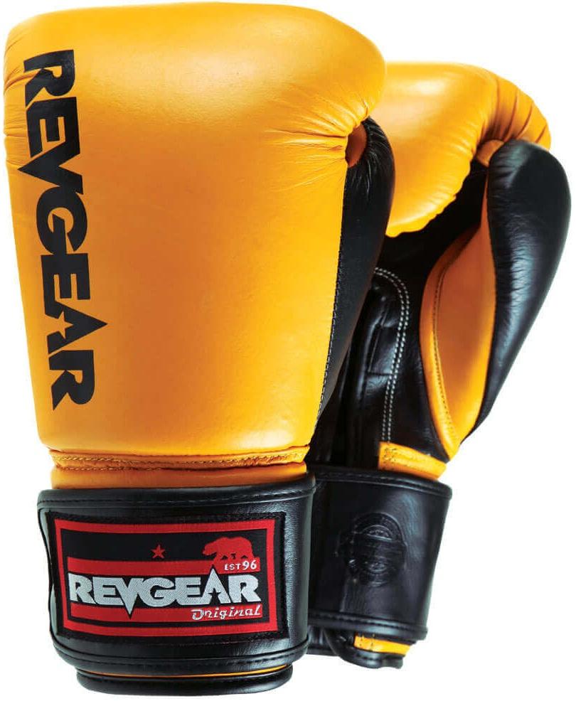 Купить Перчатки для бокса Revgear Original Gold, 6638_gd