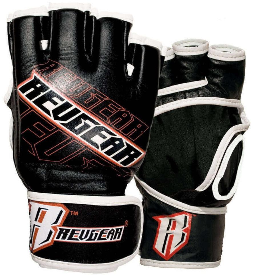 Купить Перчатки для ММА Revgear Cagemaster Black, 6643_bk
