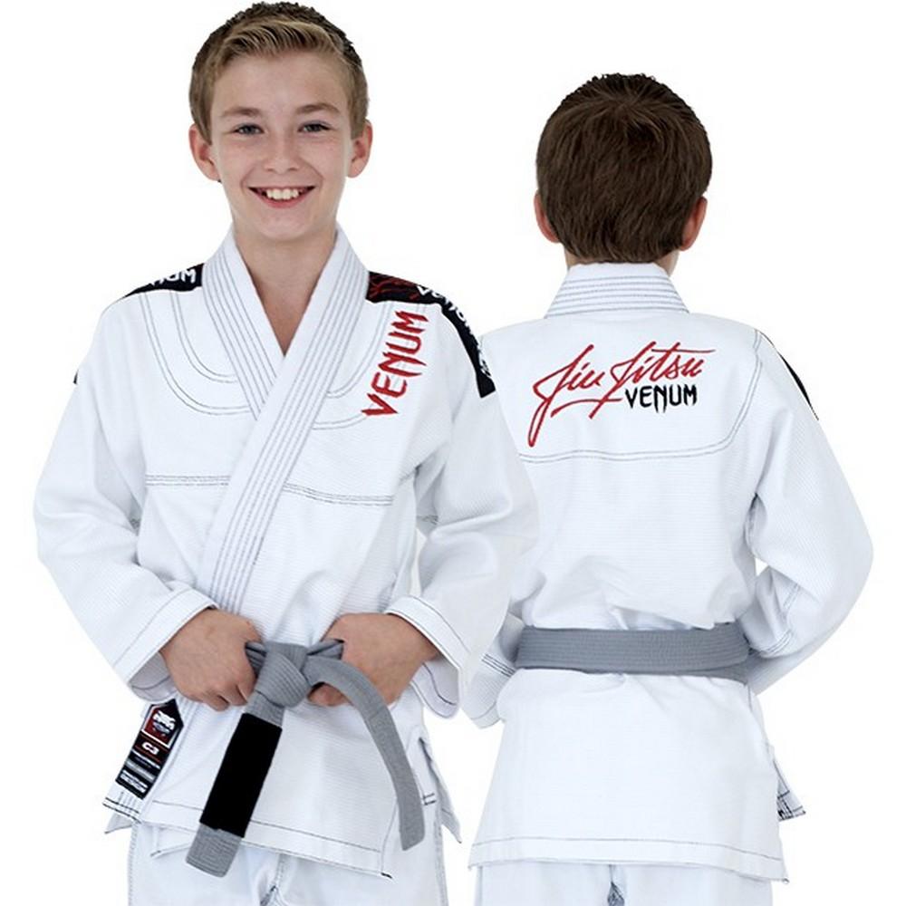 Купить Кимоно Детское Venum Challenger 2.0 Kids BJJ Gi White&, 3253_wh