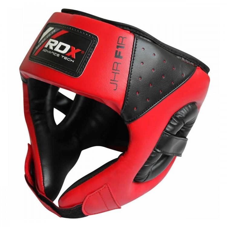Купить Боксерский шлем детский RDX Zero Impact Kids Head Guard Red, 6137_rd